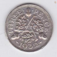 3 пенса 1932 года