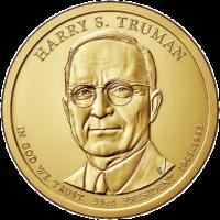 1 доллар 2015 года Гарри Трумен 33 президент