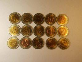 Юбилейные монеты серии Красная книга