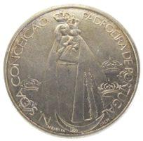 1000 эскудо 2001 г. «350-летие коронации Девы Марии»