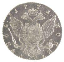 1 рубль 1771 г. СПБ-TI-ЯЧ