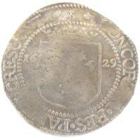 Нидерланды. Риксдалер 1629 г. Зеландия