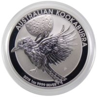 Австралия. 1 доллар 2018 г. «Кукабарра»