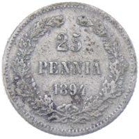 25 пенни 1894 г. L
