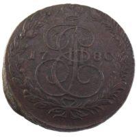 5 копеек 1780 г. ЕМ
