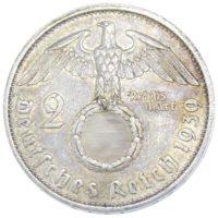 2 рейхсмарки 1939 г. A
