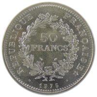 Франция. 50 франков 1976 г.