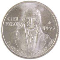Мексика. 100 песо 1977 г.
