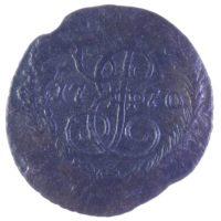 Полушка 1770 г. ЕМ