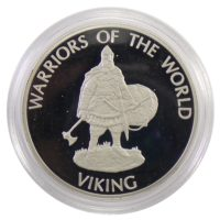 Конго. 10 франков 2009 г. «Викинг»