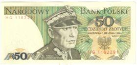 Польша. 50 злотых 1986 г.