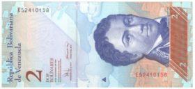 Венесуэла. 2 боливара 2008 г.