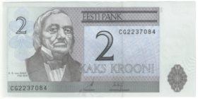 Эстония. 2 кроны 2006 г.
