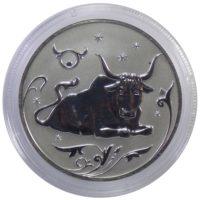 2 рубля 2005 г. «Знаки зодиака — Телец»