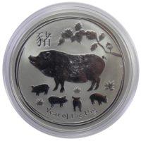 Австралия. 1 доллар 2019 г. «Год Свиньи»