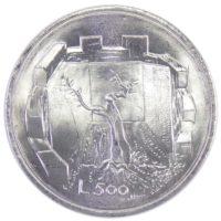 Сан-Марино 500 лир 1976 г. «Республика»