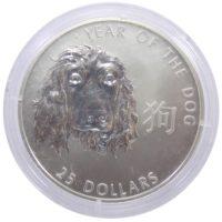 Соломоновы Острова. 25 долларов 2006 г. «Год Собаки»