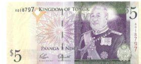 5 долларов Тогнго
