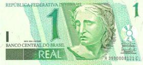 1 реал Бразилия