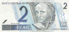 2 реала Бразилия