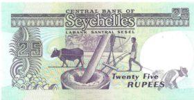 25 рупией Сейшельские Острова