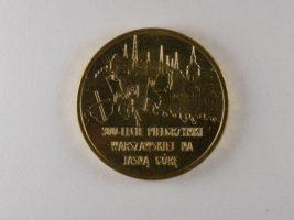2 злотых 2011 Польша 300 летие Варшавского Паломничества к Ясной Горе