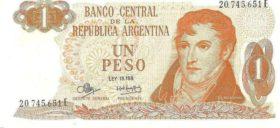 1 песо Республика Аргентина