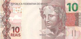 10 реал Бразилия