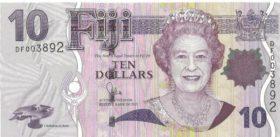 10 дoллaрoв Фиджи
