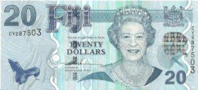 20 дoллaрoв Фиджи