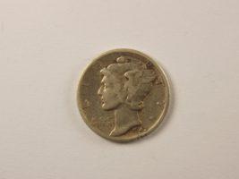 1 дайм 1942 года Меркурий