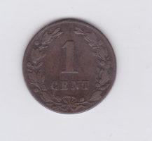 1 цент 1884 года Нидерланды