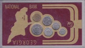 Набор из 6 монет Грузия