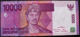 10000 рупий 2005 года Индонезия