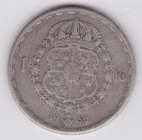 1 крона 1950 года
