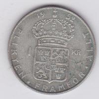 1 крона 1952 года