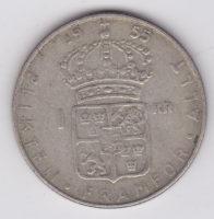 1 крона 1955 года