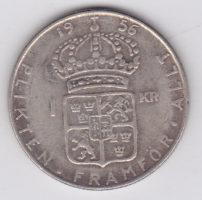 1 крона 1956 года