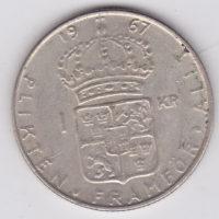 1 крона 1967 года