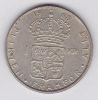 1 крона 1968 года