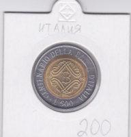 500 лир 1993 года 100 лет банку Италии