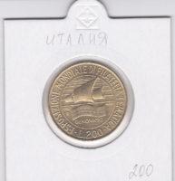 200 лир 1992 года Выставка марок в Генуе