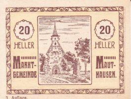 Нотгельд 20 геллеров