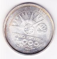 1000 эскудос 1998 года