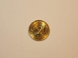 20 центов 2014 года Латвия