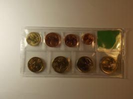Набор монет евро 2008 года Греция