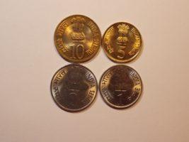 Набор монет 2010 года Индия