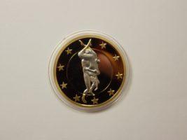 Сувенирная монета Секси 6 евро