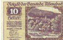 10 ваучеров 1920 года.Германия.