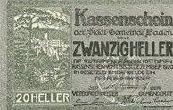 20 ваучеров . Германия.
